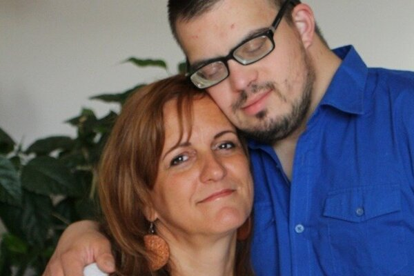 Ivi s mamou Marcelou.