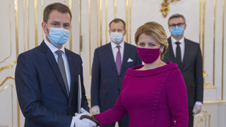 Pozrite si, ako prezidentka menovala novú vládu Igora Matoviča (video)