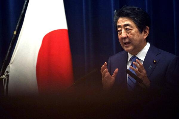 Japonský premiér Šinzo Abe.