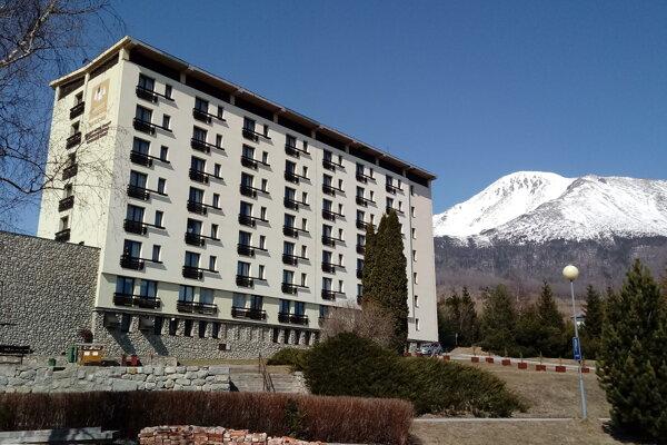 Hotel Granit v Tatranských Zruboch.