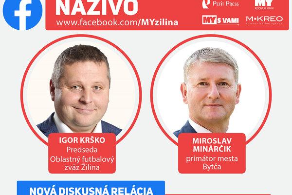 Nová diskusná relácia #MYtozvladneme pod rúškom informácií. Diskutovať budú Igor Krško a Miroslav Minárčik.