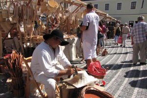 Tradičný jarmok v Trnave.