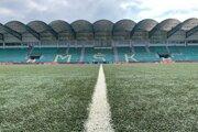 Momentálne na štadióne MŠK Žilina vládne ticho.