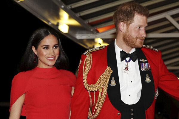 Britský princ Harry a jeho manželka Meghan.