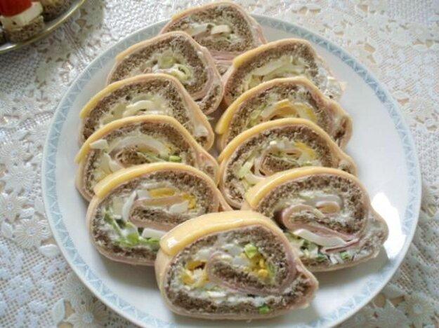 Chlebová roláda