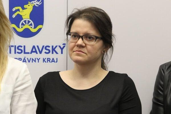 Štátna tajomníčka Ministerstva zdravotníctva SR Jana Ježíková.