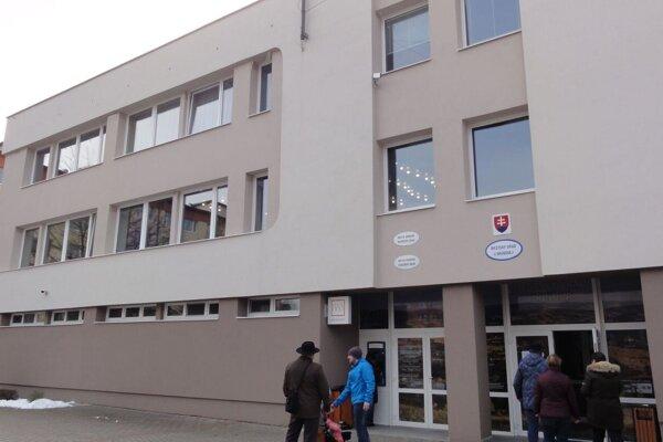 Mestský úrad v Hriňovej.
