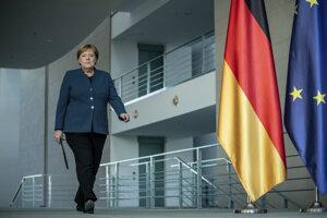 Nemecká spolková kancelárka Angela Merkelová.