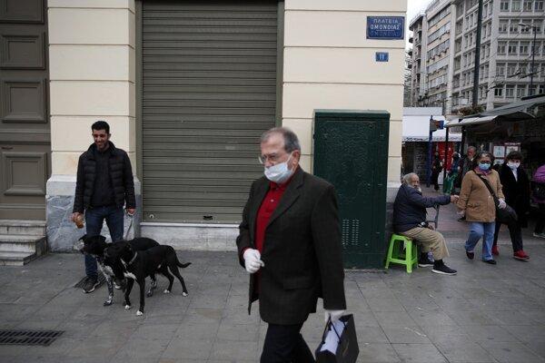 Grécko predĺži obmedzenia voľného pohybu osôb do 27. apríla