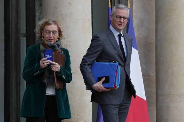 Francúzsky minister hospodárstva a financií Bruno Le Maire.