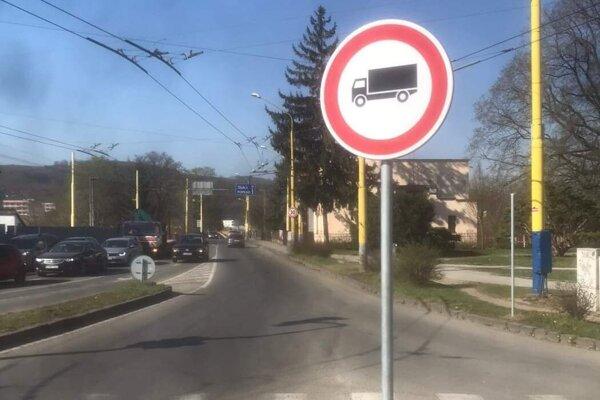 Most na Škultétyho ulici v Prešove.
