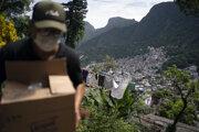 Najväčší slum v Latinskej Amerike Rocinha.