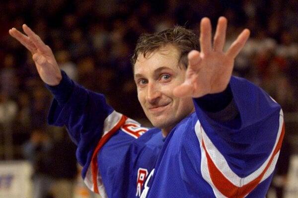 Wayne Gretzky v roku 1999.