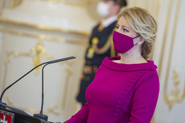 Prezidentka Zuzana Čaputová.