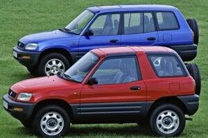 Toyota RAV4 z roku 1994.