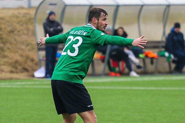 Peter Kleščík v drese 1. FK Příbram.