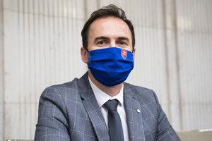 Predseda poslaneckého klubu hnutia Michal Šipoš.