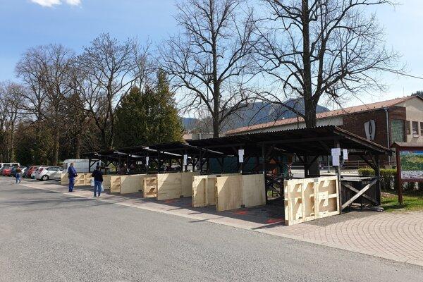 Trhovisko v Liptovskom Hrádku.
