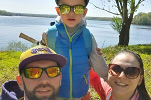 Tomáš Urban chodí často s rodinkou na prechádzky v okolí nemeckého Emsdettenu.