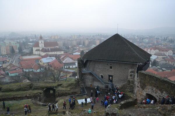 Fiľakovský hrad patrí v Novohrade k miestam, ktoré turisti najviac vyhľadávajú.