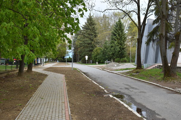 Nový chodník na Sídlisku III.