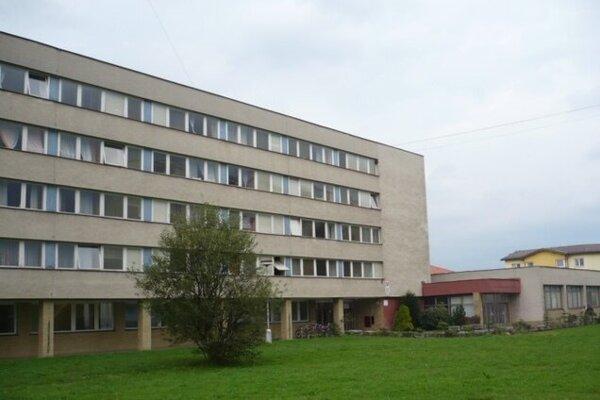 Školský internát v Turčianskych Tepliciach.
