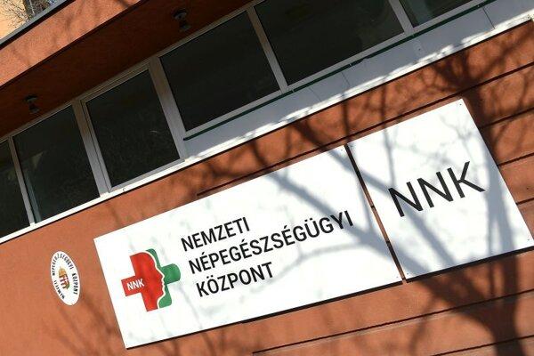 Budova Národného centra zdravia v Budapešti.