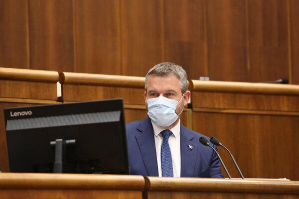 Podpredseda parlamentu a Smeru Peter Pellegrini.