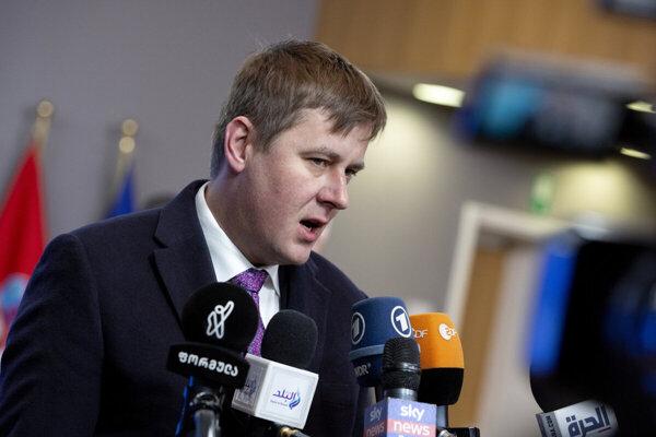 Český minister zahraničných vecí Tomáš Petříček.