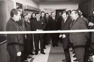 Otvorenie klubu pred 50 rokmi.