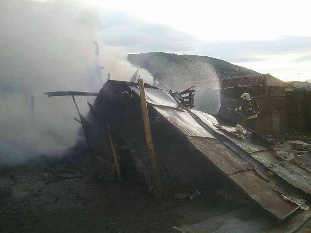 Zásah hasičov z Moldavy nad Bodvou.