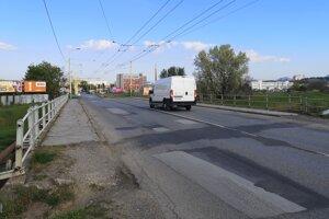 Kraj žiada eurofondy aj na opravu časti úseku Solivarskej ulice. Rekonštrukcia mosta bude stáť podľa odhadu tri milióny eur.