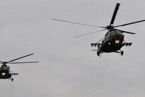 Vrtuľníky obťažujú obyvateľov Košíc a okolia.