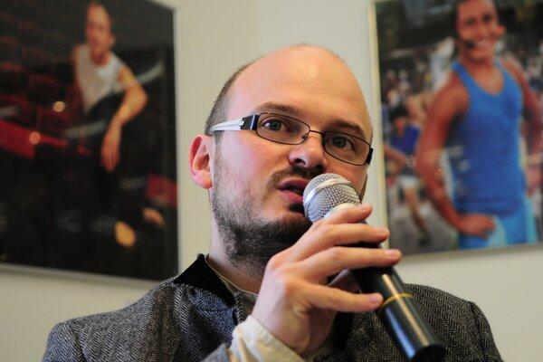 Christian Potiron v čase, keď spolupracoval na projekte EHMK Košice.