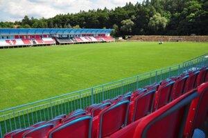 Zvolenský futbalový štadión - ilustračné foto