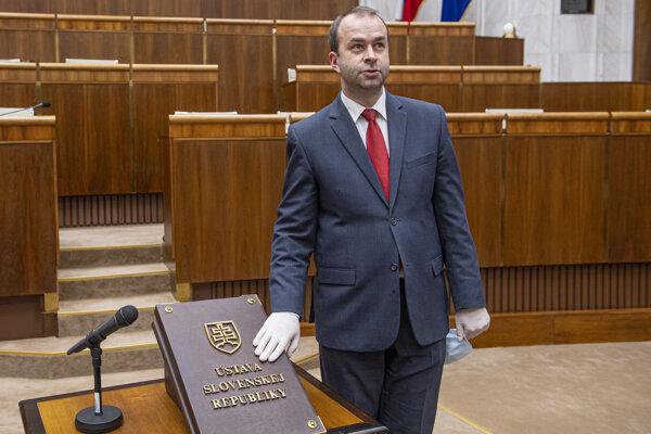 Poslanec Smeru Ján Podmanický.