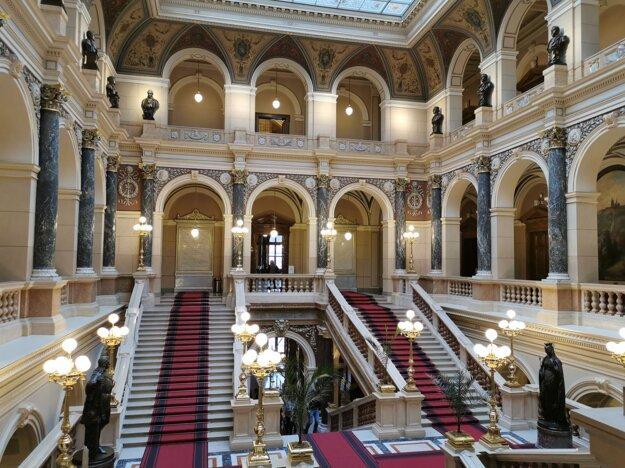 Interiér Národného múzea