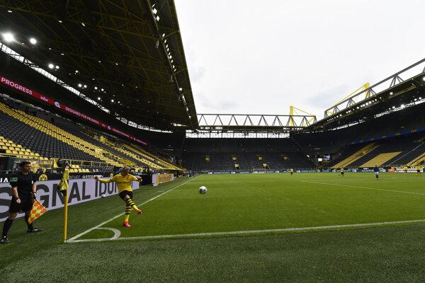 Atmosféra v Dortmunde.