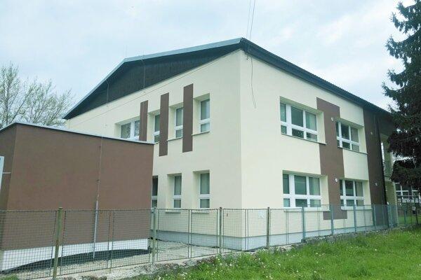 Zrekonštruovaná materská škola.
