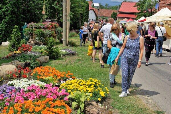 Podujatie Kvet Podhradia si vybudovalo dobrú povesť, aj mimo regiónu Turca.
