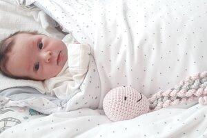 Melisa Snohová (3320 g, 50 cm) sa narodila 21. apríla Kataríne a Martinovi z Trenčína.