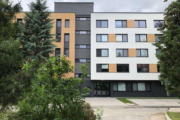Nový internistický pavilón komárňanskej nemocnice.