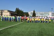 Soblahovčania v minulosti zažili nástup na ligový zápas AS Trenčín.