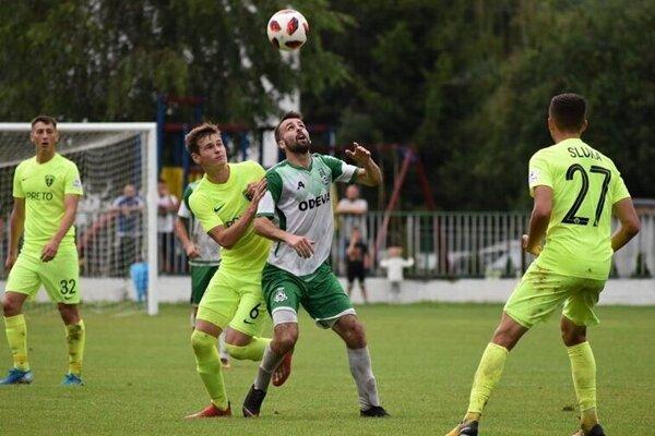 Na Vladimíra Pydu si musia dávať pozor aj súperi z vyšších líg. Tak ako v tomto prípade futbalisti Žiliny.