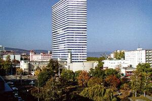 Vizualizácia projektu Residence Tower z roku 2007.