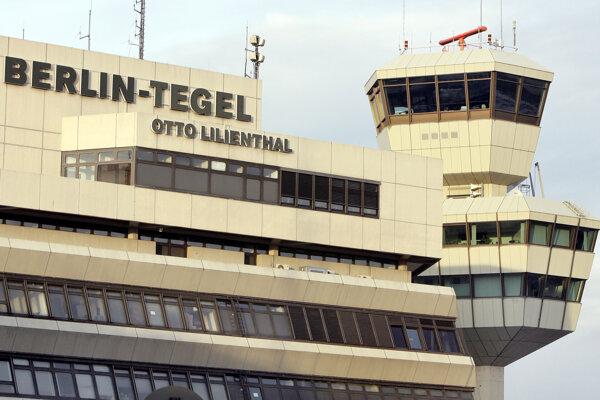 Berlínske letisko Tegel.