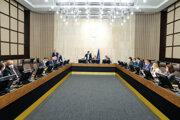 Rokovanie 23. schôdze vlády.