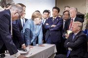 Merkelová si s Trumpom nerozumie.
