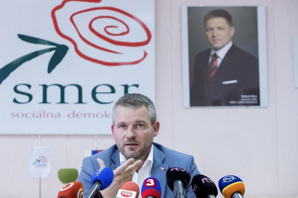 Ako podpredseda vlády pre investície a informatizáciu a podpredseda strany Smer v roku 2017.