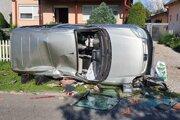 Nehoda v Michalovskom okrese.